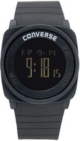 Converse Watch, Unisex Digital Full Court Black Silicone Strap 45mm VR034-001