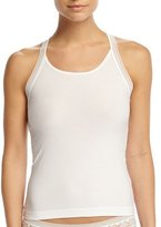 Wacoal Purity Lace-Combo Tank Top, White