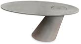 Concrete Leaning Desk