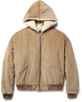 Fear Of God Faux Shearling-Lined Cotton-Corduroy Bomber Jacket