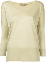 Cruciani scoop neck jumper - women - Silk/Cashmere - 46