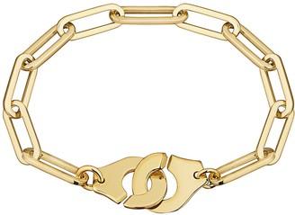 Dinh Van Large Menottes R15 Bracelet - Yellow Gold