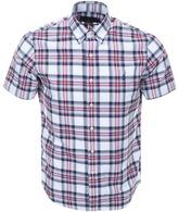 Ralph Lauren Short Sleeved Check Shirt White