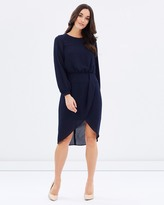 Cooper St Pure Poetry Long Sleeve Dress
