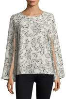 Context Split Swing Blouse