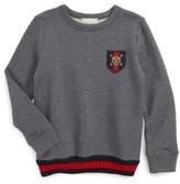 Gucci Boy's Patch Sweatshirt