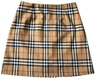 Goodnight Macaroon 'Tiffany' Plaid Elastic Waist Skirt