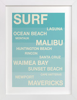 Minted Surf Hot Spots Children's Custom Art Print