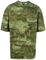 Yeezy camouflage print T-shirt
