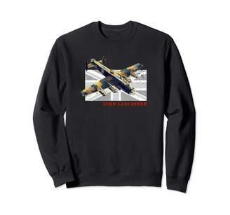 Bomber Ww2 Aircraft Apparel Co. British RAF Avro Lancaster Bomber WW2 Aircraft Sweatshirt