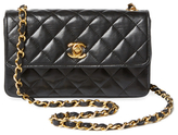 Chanel Vintage Black Quilted Lambskin Flap Mini