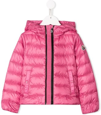 Moncler Enfant Hooded Down Coat