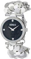 Versus By Versace Women's SGW040013 Paris Lights Analog Display Japanese Quartz Silver Watch