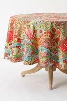Tahitian Vine Tablecloth, Round