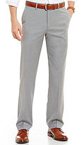 Daniel Cremieux Networking Collection Chambers Straight-Fit Flat-Front Solid Pants