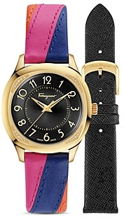 Salvatore Ferragamo Time Watch with Interchangeable Straps, 36mm