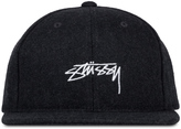 Stussy Smooth Stock Melton Wool Cap