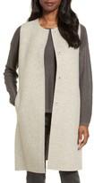 Eileen Fisher Women's Long Wool Blend Vest