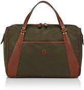 Felisi Men's Double-Handle Briefcase-DARK GREEN