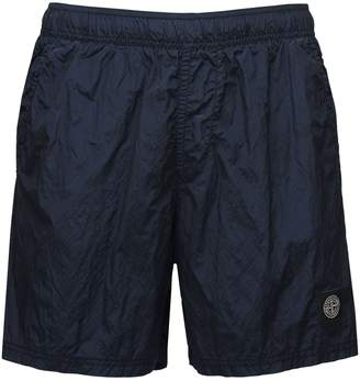 Stone Island METALLIC NYLON SWIM SHORTS