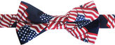 Asstd National Brand American Lifestyle Allover Flag Pre-Tied Bow Tie
