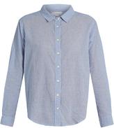 Velvet by Graham & Spencer Claire striped-cotton shirt