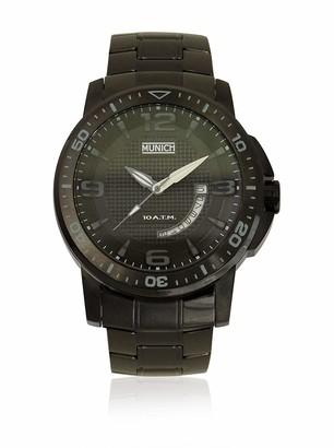 Munich Unisex Adult Analogue Quartz Watch with Stainless Steel Strap MU+132.1A
