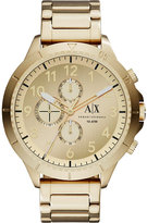 Armani Exchange Ax1752 Gold-plated Stainless Steel Watch