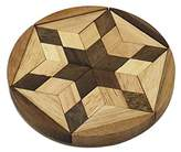 Novica Star White Wooden Puzzles, 'Star Of David'