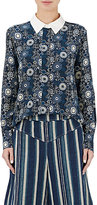 Chloé Women's Button-Front Silk Crepe Blouse