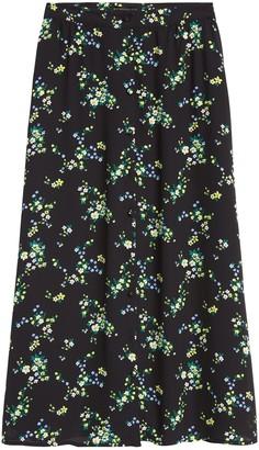 Banana Republic JAPAN EXCLUSIVE Floral Midi Skirt