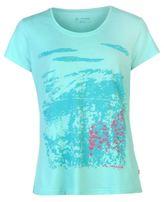 Vaude Womens Glean T Shirt Ladies Short Sleeve V Neck Summer Casual Tee Top