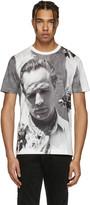 Dolce & Gabbana White Pensive Marlon Brando T-Shirt