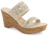 Onex &Maryann& Slide Wedge Sandal (Women)