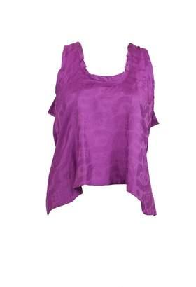 Isabel Marant Purple Silk Tops