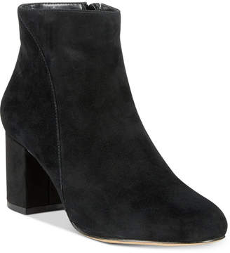 INC International Concepts Inc Floriann Block-Heel Ankle Booties, Women Shoes