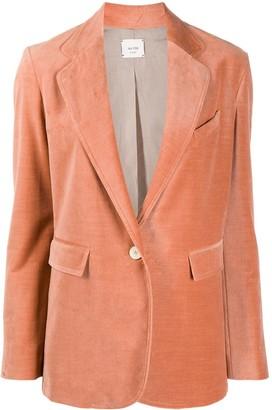 Alysi Velvet Tailored Blazer