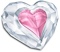Swarovski Heart Only for You