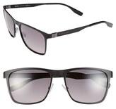 BOSS 57mm Polarized Sunglasses