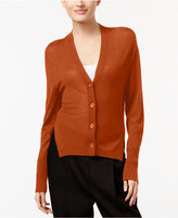DKNY Side-Slit Cardigan