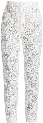 Alexander McQueen Lace Trousers