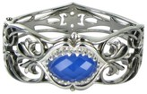 Stephen Webster 925 Les Dents de le Mere Shark Jaw Blue Agate Bracelet