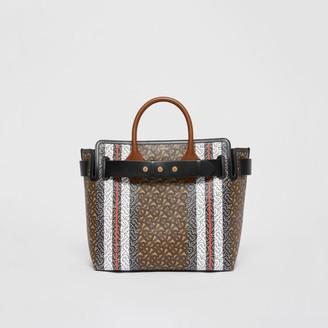 Burberry The Medium Monogram Stripe E-canvas Belt Bag