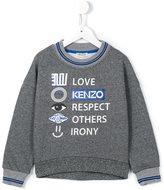 Kenzo symbols print sweatshirt