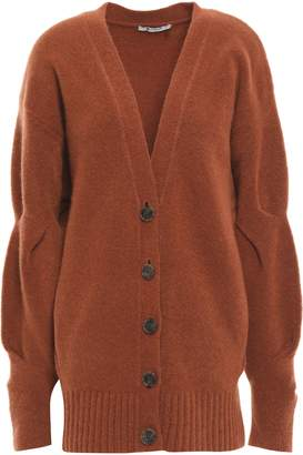Alexander Wang Brushed Wool-blend Cardigan