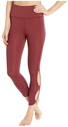 FP Movement High-Rise Infinity Leggings (Wine) Women's Casual Pants
