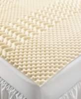Home Design 5 Zone Memory Foam Twin XL Mattress Topper