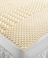Home Design CLOSEOUT! 5 Zone Memory Foam Twin XL Mattress Topper