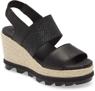 Sorel Joanie II Slingback Platform Wedge Sandal