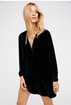 Free People x CP Shades Womens SHES GOT IT SHIRTDRESS